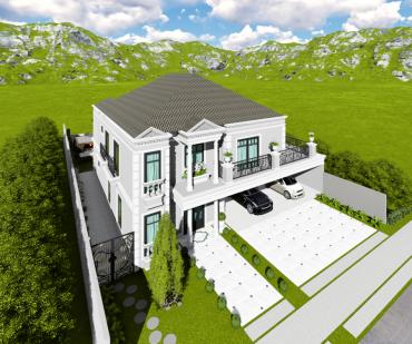 Projeto de Casa no Condomínio Alphaville