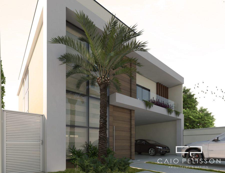 Projeto Casa Sobrado Moderno Terreno 12x25 Construcao 200