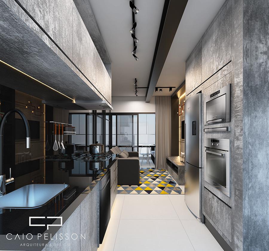 Conhecido projeto decoracao design apartamento studio e motion brooklin sp  EX79