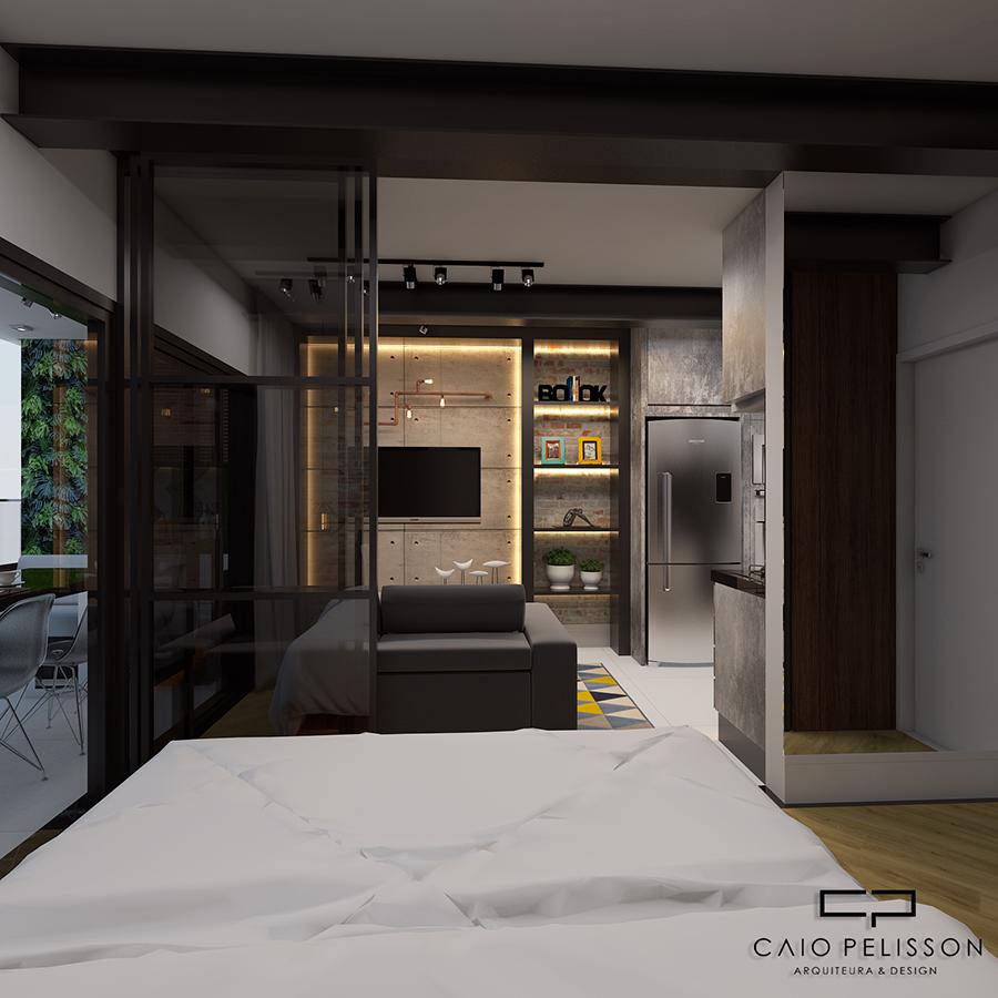 Excepcional projeto decoracao design apartamento studio e motion brooklin sp  CR08
