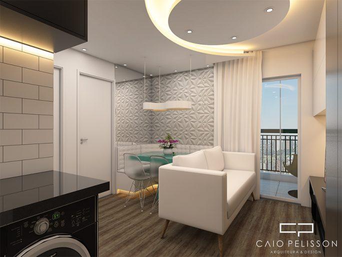 Projeto design interiores decoracao ambientes apartamento for Interiores de apartamentos
