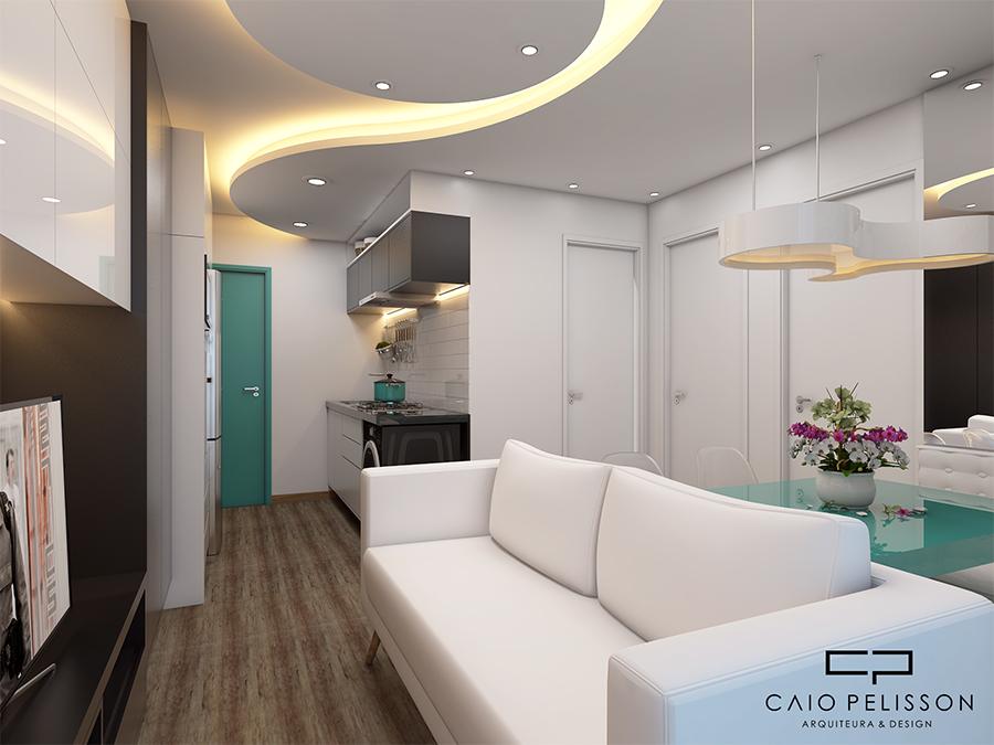 Projeto design interiores decoracao ambientes apartamento for Ambientes modernos interiores