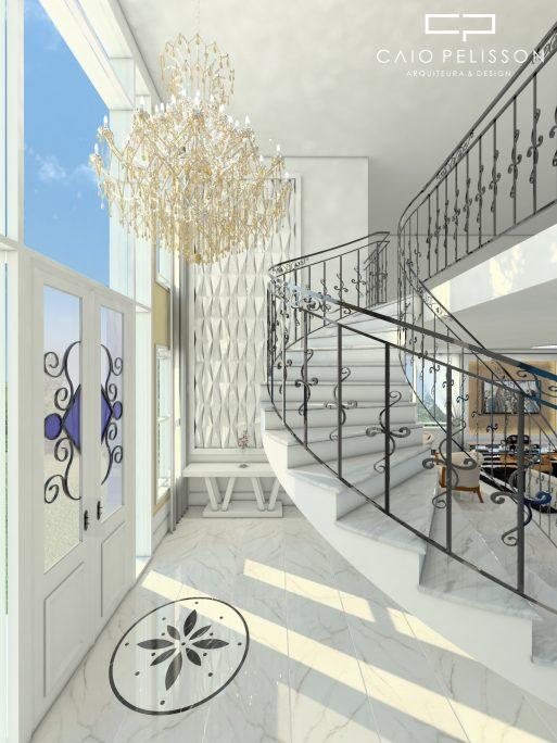 projeto sala pe direito duplo estilo neoclassicaprojeto sala pe direito duplo estilo neoclassica