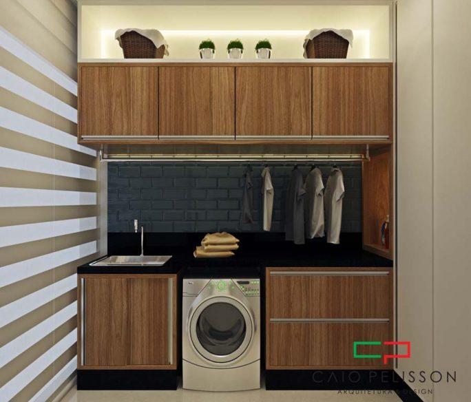 projeto design interiores decoração ambientes casa térrea moderna 10x25
