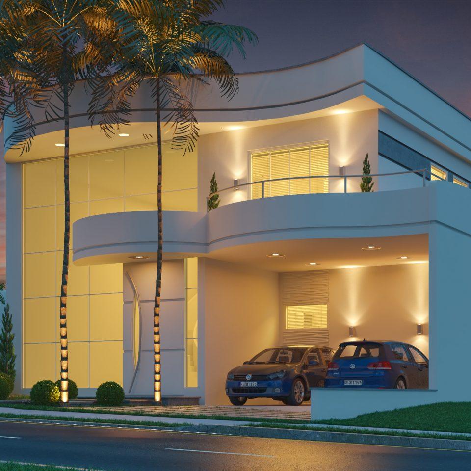 Projetos de casas arquitetura moderna e contempor nea for Modelos de casas alargadas