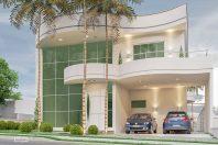 projeto residencia casa sobrado moderno curvas redondo arquitetura
