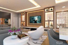 Projeto Decoração e Design Interiores Ambientes Apartamento Reserva Mairare São Paulo Arquiteto