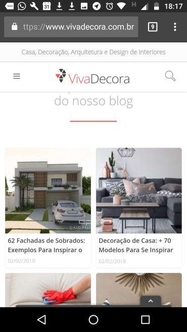 Projetos do arquiteto Caio Pelisson são destaque no conceituado site viva decora