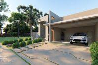 Projeto construção casa térrea moderna 12×28 com 170 metros