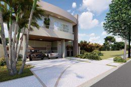 Projetos de Arquitetura Moderna em terreno 12×30 Condominio Swiss Park Campinas