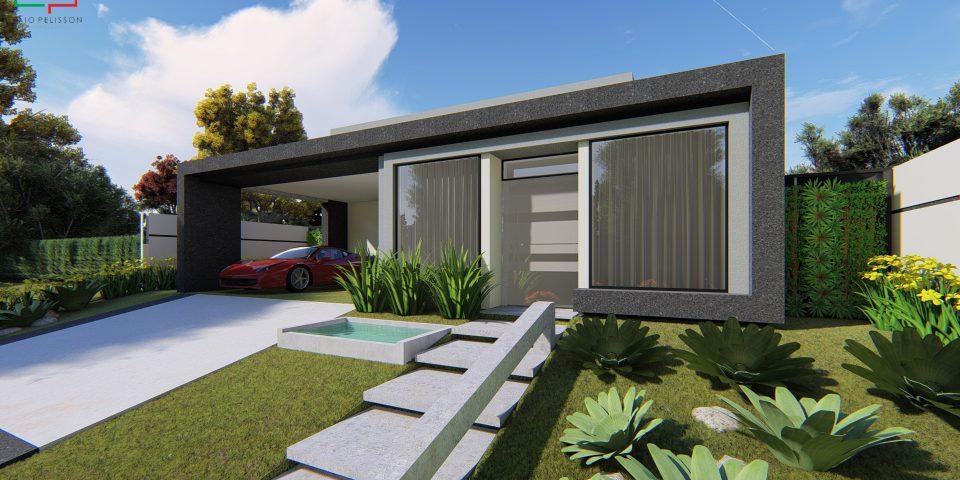 Projetos de casas arquitetura moderna e contempor nea for Casa moderna 140 m2