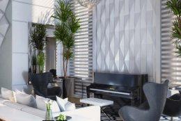 projeto design interiores decoracao ambientes integrados casa alto padrao