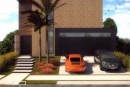 projeto sobrado minimalista estilo industrial estrutura metalica condominio 12×25
