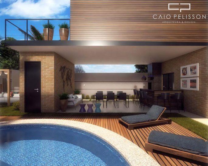 projeto sobrado minimalista estilo industrial estrutura metalica condominio 12x25