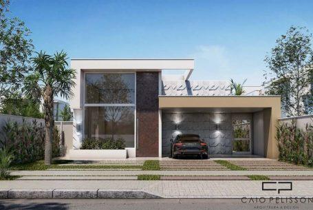 Projetos arquiteto caio for Casa minimalista 80 metros
