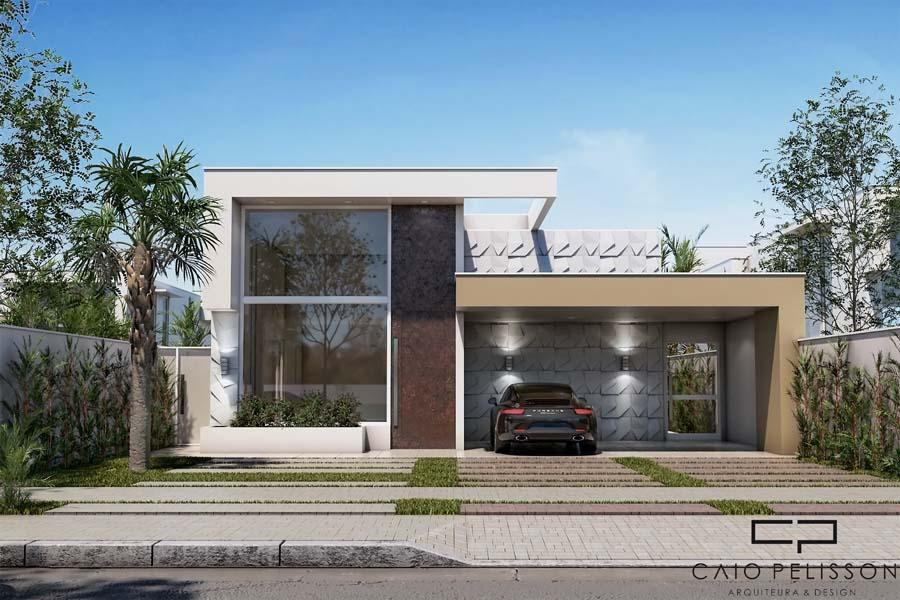 confira essa planta construir casa terrea 10x30 fachada