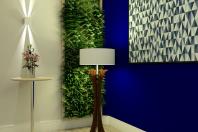 projeto decoracao ambiente recepcao empresa corporativa campinas