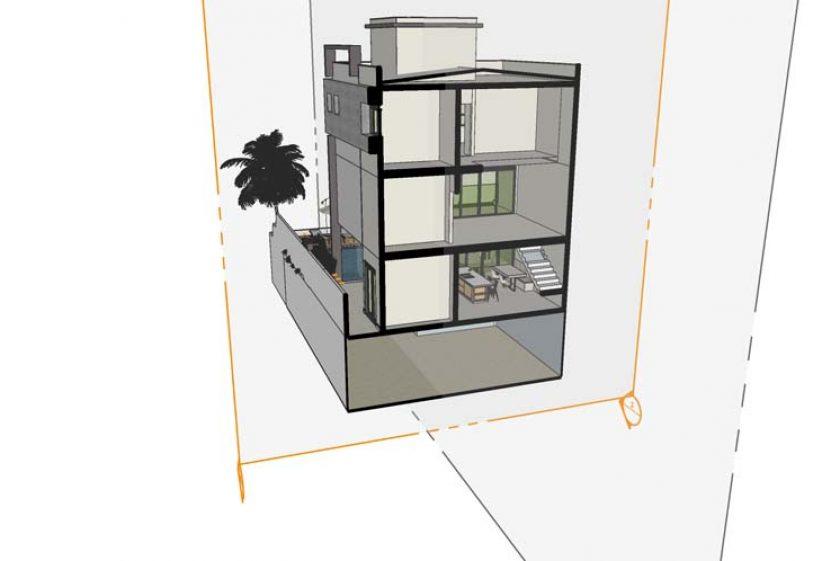 Como Calcular a inclinação de um telhado