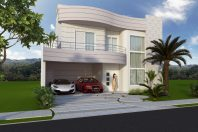 Projeto Casa Curvas Sobrado