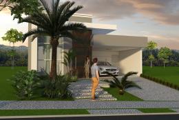 Projeto Casa Térrea com 03 Suites em terreno 10×25 Condomínio em Sumaré Projeto do Arquiteto Caio Pelisson