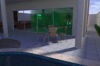 projeto planta casa sobrado fachada moderna terreno 10×25 condomínio vale oliveiras limeira telhado embutido