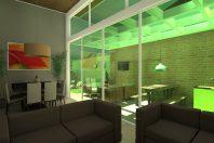 projeto casa térrea mezanino arquitetura moderna condomínio margarida limeira arquiteto caio pelisson