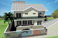 projeto 400 m2 casa sobrado alto padrão condomínio terras santa elisa limeira terreno 12×30 arquiteto arquiteta