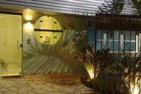 projeto desenho clinica odontologia fachada moderna decoração iluminação arquiteto limeira dentista