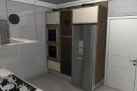 projeto design interiores arquitetura interna cozinha projeto moveis ilha coifa balcão reforma em Campinas