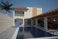 reforma casa formato l edicula piscina terreno 10 frente por 25 metros arquiteto limeira