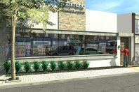projeto reforma fachada escritório contabilidade arquitetura modernista limeira pele vidro arquiteta