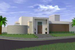 Projetos de Casas Térreas em Condomínio Arquitetura Moderna Arquiteto Arquiteta Limeira Terreno Pequeno