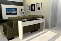 projeto design interiores decoração ambientes apartamento reservatto limeira ambientes integrados