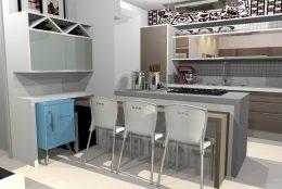projeto decoracao ambientes design interiores apartamento maison dart limeira