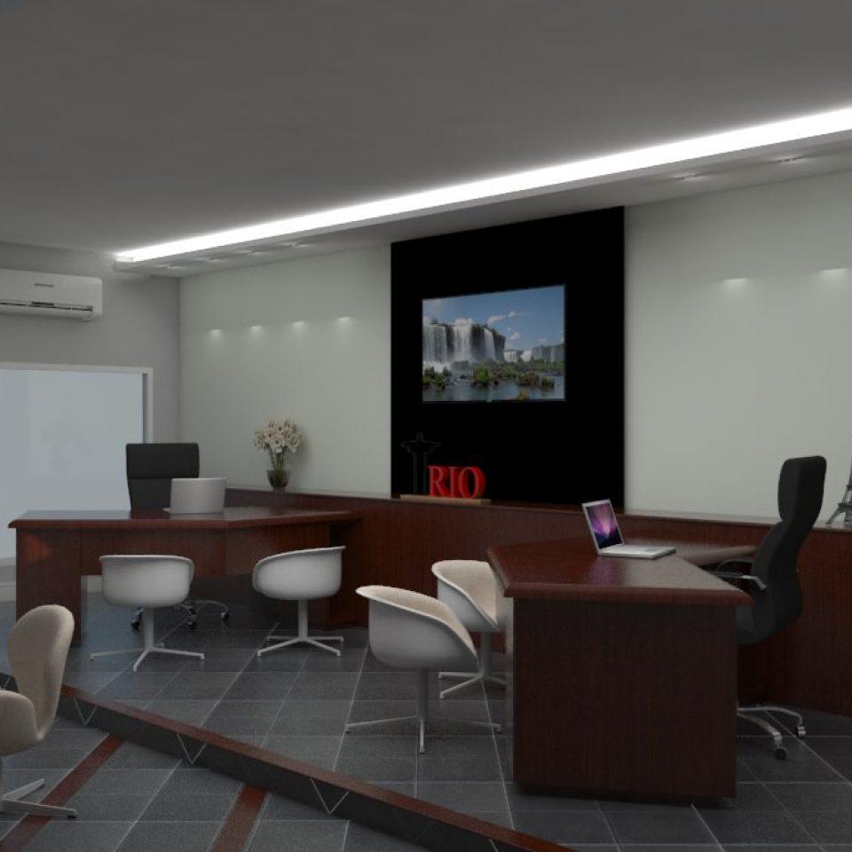 projeto agencia viagens campinas decoração ambientes design interiores fachada comercial