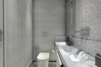 projeto reforma casa terrea arquitetura fachada neoclassica decoraçao estilo americana florida banheiro