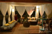 projeto area externa paisagismo moveis green house mostra de arquitetura iluminacao pergoado