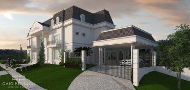 Projeto de Casa Neoclassica