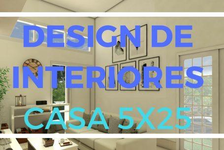 projeto casa decorada moderna 5×25 projeto interiores