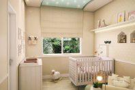 projeto decoração design quarto nene bebe infantil feminino criança estilo romântico