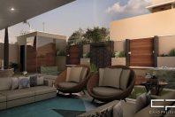 projeto sobrado moderno 10×25 garagem subsolo alto padrão condomínio Sorocaba