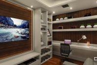 projeto apartamento decorado talipo campinas taquaral 80 metros varanda gourmet sala integrada