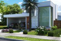 projeto casa terrea condominio piracicaba 12×25 vila daquila casa compacta 150 metros