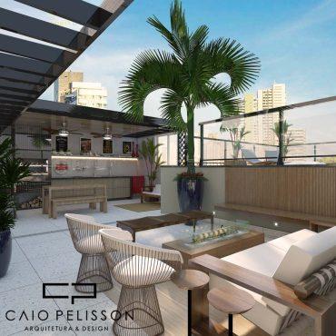 Apartamento Cobertura em SP projeto de alto luxo e bom gosto