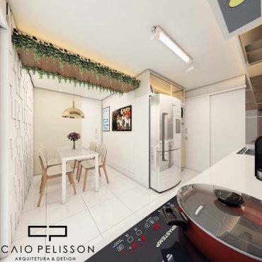 Decoração de Apartamento Duplex moderno em São Paulo